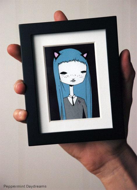 Teeny Tiny Print: Cat Club by Christy Pepper Dawson