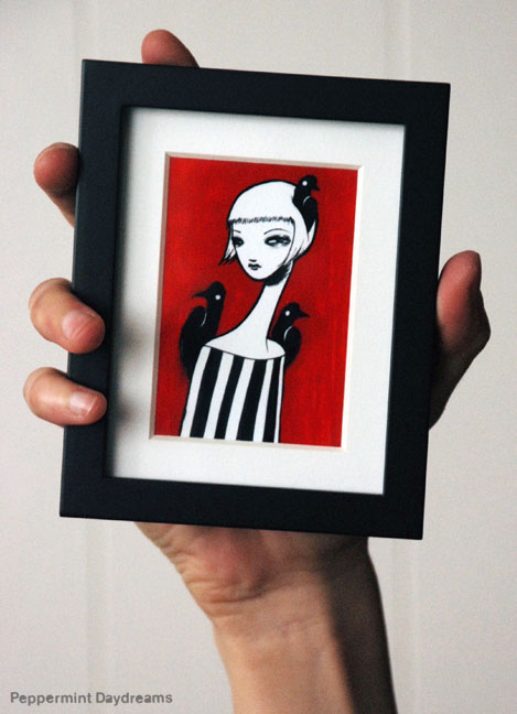 Teeny Tiny Print: Queen of Crows by Christy Pepper Dawson