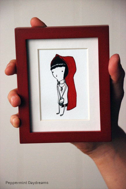 Teeny Tiny Print: Little Red by Christy Pepper Dawson