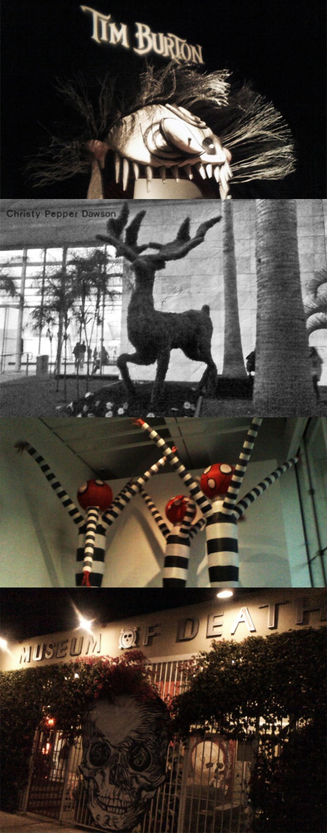 tim burton exhibit