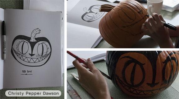 halloween pumpkin by christy pepper dawson