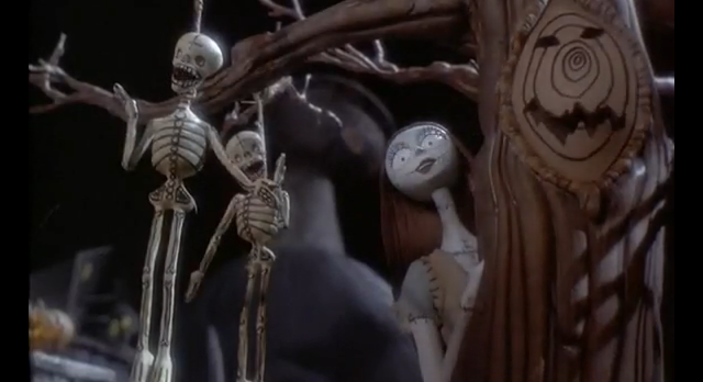 ANIMATION FRIDAY. this is halloween, sally