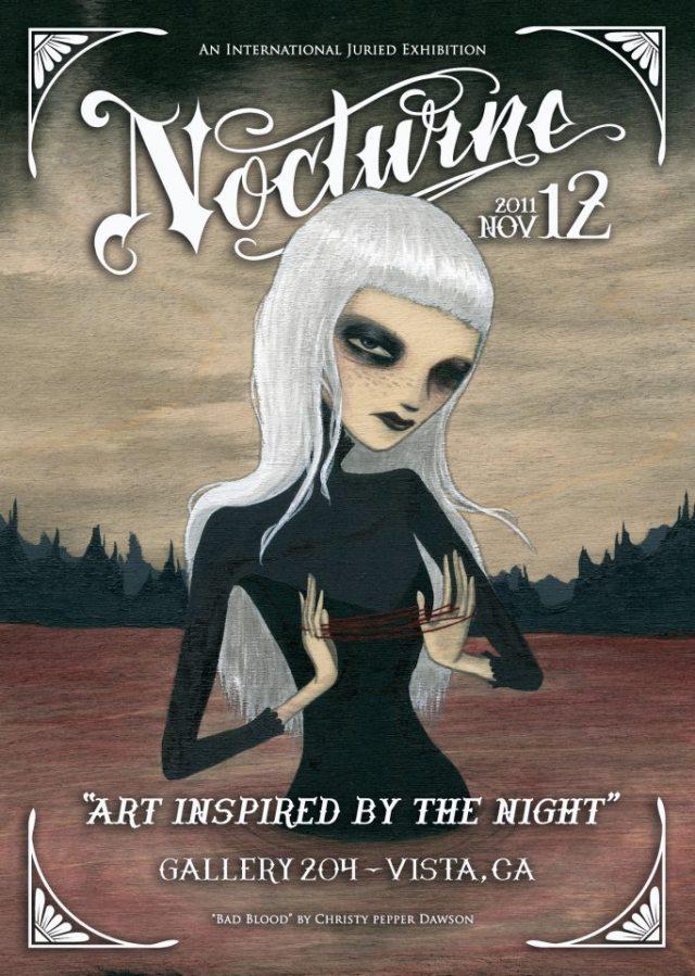 Nocturne art show
