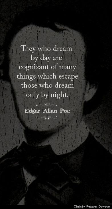 Edgar Allan Poe dream quote